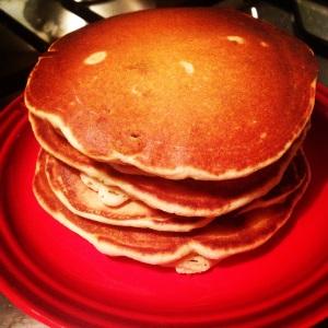 A stack of Paleo Scotch Pancakes
