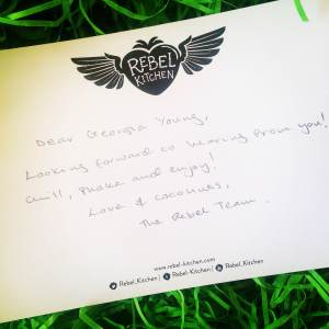 Rebel Kitchen Compliments Card