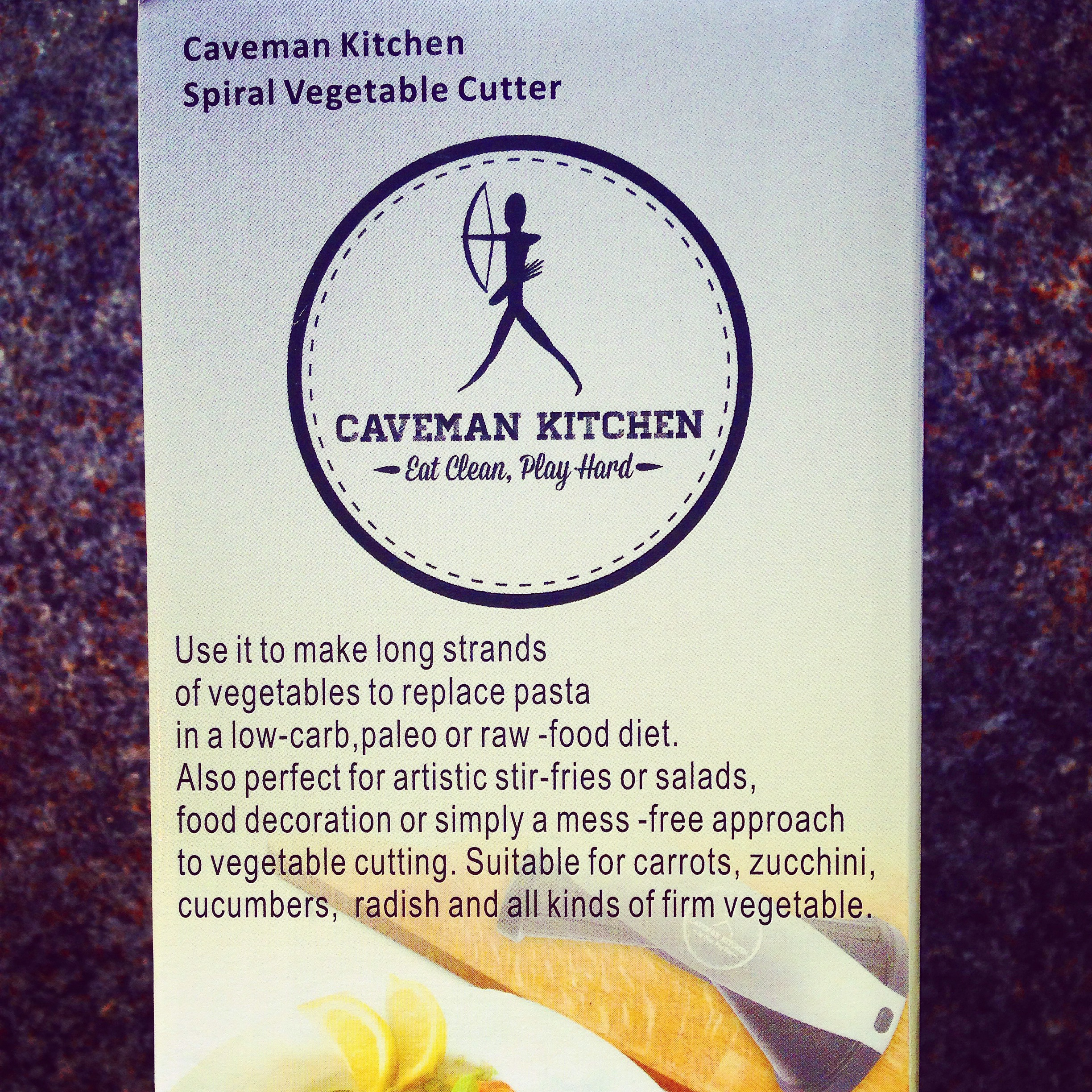 Caveman Kitchen Spiral Cutter Review, Competition & Recipe!