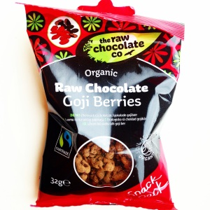 The Raw Chocolate Co. Organic Raw Chocolate Goji Berries
