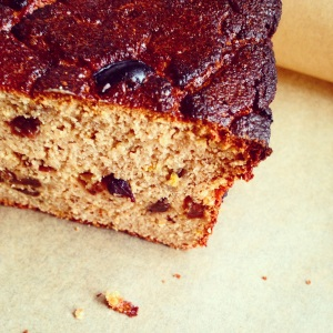 Paleo Spiced Fruit Bread
