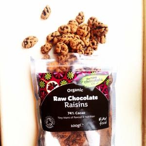 The Raw Chocolate Co. Organic Raw Chocolate Raisins
