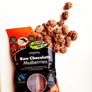 The Raw Chocolate Co. Organic Raw Chocolate Mulberries