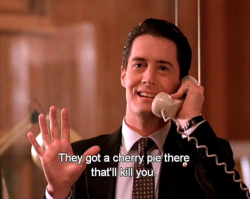 Twin Peaks Pie Quote: That's A Damn Fine (Paleo) Cherry Pie
