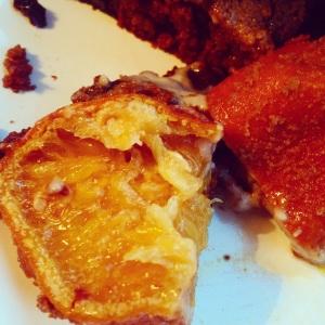 Paleo Candied Orange inside Paleo Christmas Pudding