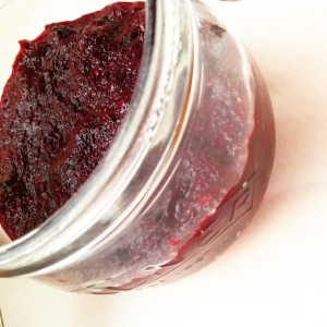 Pale Black Forest Chia Jam