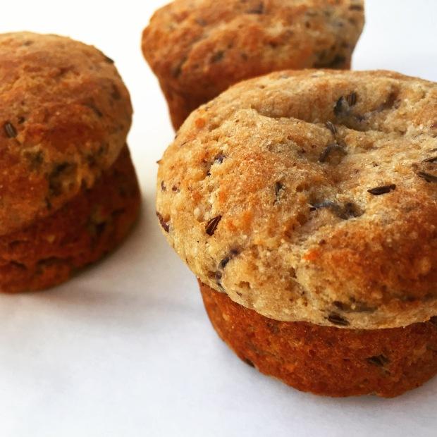 Paleo Potato Parsnip & Parmesan Savoury Muffins
