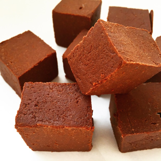 Paleo Salted Chocolate Orange Super Fudge