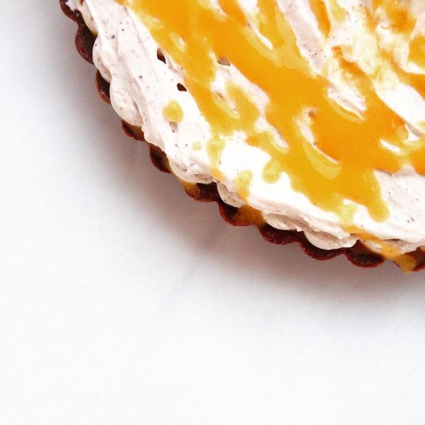 Paleo Tangerine Dream Truffle Tart