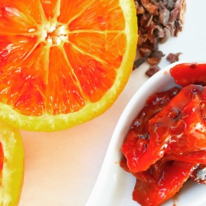 Paleo Blood Orange & Cocoa Nib Marmalade