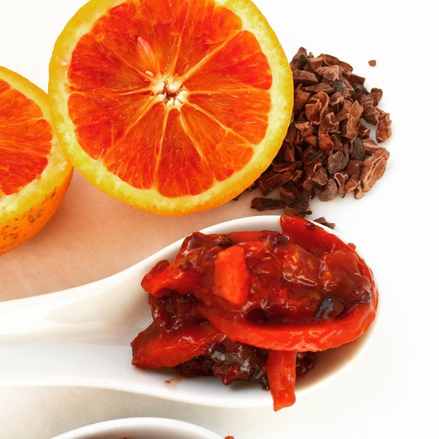 Paleo Blood Orange & Cocoa Nib Marmalade