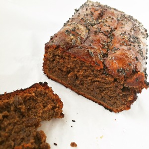 Paleo Black Sesame Banana Bread